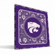 Kansas State Wildcats Eclectic Canvas Print
