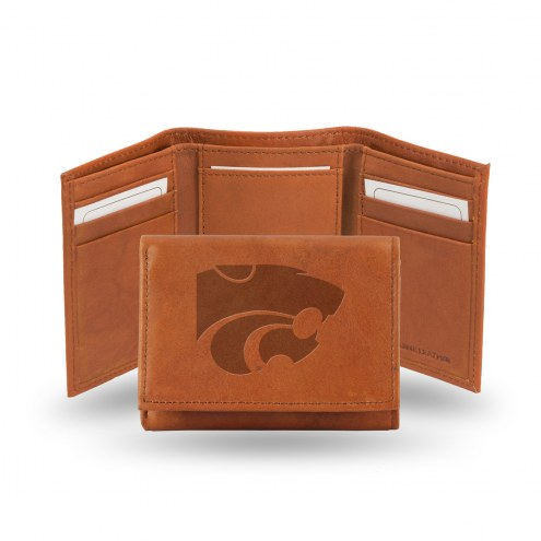 Kansas State Wildcats Embossed Tri-Fold Wallet