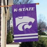 Kansas State Wildcats NCAA Applique 2-Sided Banner Flag
