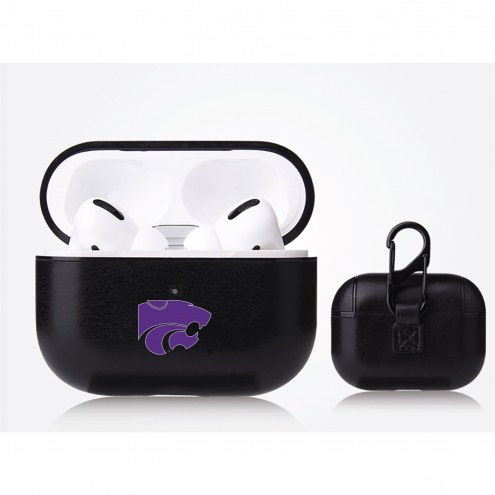 Kansas State Wildcats Fan Brander Apple Air Pod Pro Leather Case