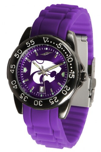 Kansas State Wildcats Fantom Sport Silicone Men's Watch