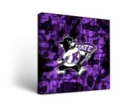 Kansas State Wildcats Fight Song Canvas Wall Art