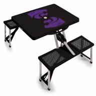 Kansas State Wildcats Folding Picnic Table