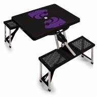 Kansas State Wildcats Folding Picnic Table