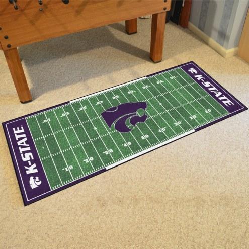 Kansas State Wildcats Football Field Runner Rug