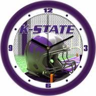 Kansas State Wildcats Football Helmet Wall Clock