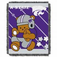 Kansas State Wildcats Fullback Baby Blanket