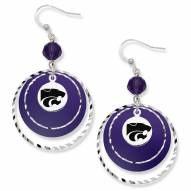 Kansas State Wildcats Game Day Earrings
