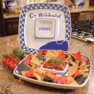 Kansas State Wildcats Gameday Chip N Dip Dish