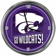 Kansas State Wildcats Go Team Chrome Clock