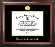 Kansas State Wildcats Gold Embossed Diploma Frame
