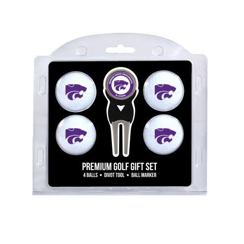 Kansas State Wildcats Golf Ball Gift Set
