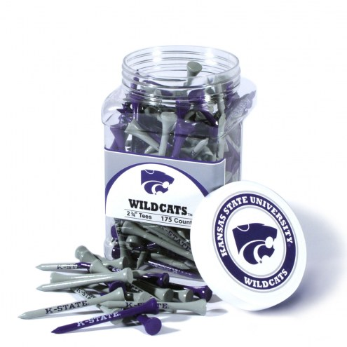 Kansas State Wildcats 175 Golf Tee Jar