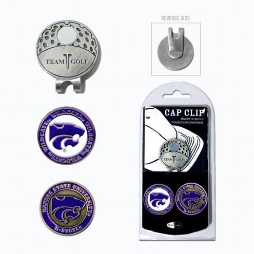 Kansas State Wildcats Hat Clip & Marker Set