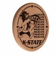 Kansas State Wildcats Laser Engraved Wood Sign