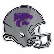 Kansas State Wildcats Helmet Car Emblem