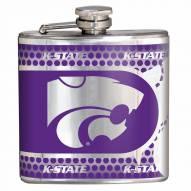 Kansas State Wildcats Hi-Def Stainless Steel Flask