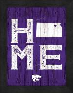 Kansas State Wildcats Home Away From Home Wall Decor