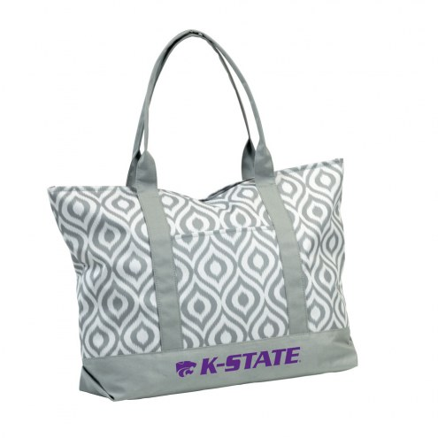 Kansas State Wildcats Ikat Tote Bag