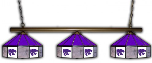 Kansas State Wildcats 3 Shade Pool Table Light