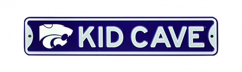 Kansas State Wildcats Kid Cave Street Sign