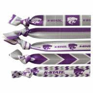 Kansas State Wildcats Knotted Hair Tie