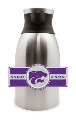Kansas State Wildcats Large Stainless Steel Coffee Pot