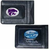 Kansas State Wildcats Leather Cash & Cardholder