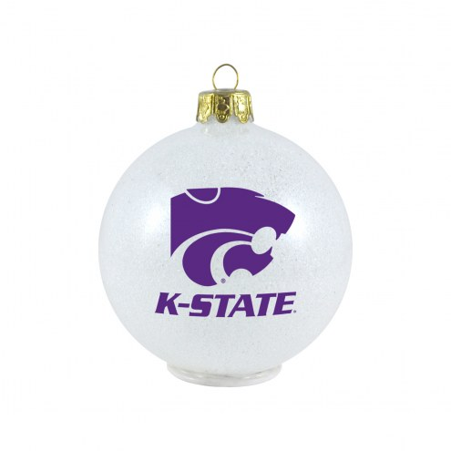Kansas State Wildcats LED Color Changing Ball Ornament