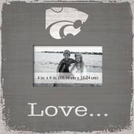 Kansas State Wildcats Love Picture Frame