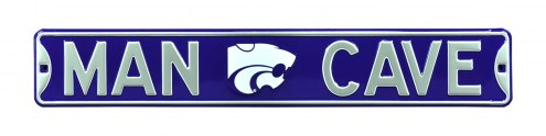 Kansas State Wildcats Man Cave Street Sign