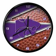 Kansas State Wildcats Football Clock