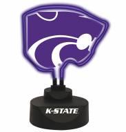 Kansas State Wildcats Team Logo Neon Light