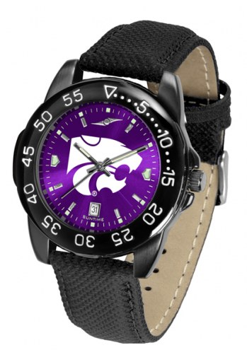 Kansas State Wildcats Men's Fantom Bandit AnoChrome Watch
