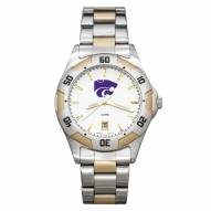 Kansas State Wildcats Men's All-Pro Two-Tone Watch