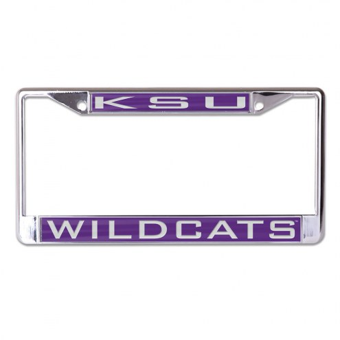 Kansas State Wildcats Metal License Plate Frame