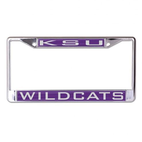 Kansas State Wildcats Metal License Plate Frame