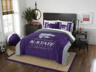 Kansas State Wildcats Modern Take Full/Queen Comforter Set