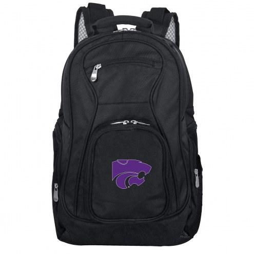 Kansas State Wildcats Laptop Travel Backpack