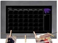 Kansas State Wildcats Monthly Chalkboard with Frame