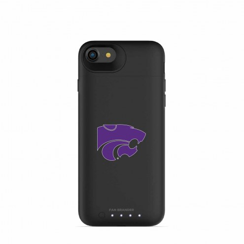 Kansas State Wildcats mophie iPhone 8/7 Juice Pack Air Black Case