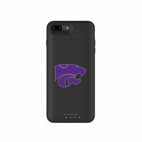 Kansas State Wildcats mophie iPhone 8 Plus/7 Plus Juice Pack Air Black Case