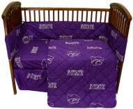 Kansas State Wildcats Baby Crib Set