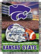 Kansas State Wildcats NCAA Woven Tapestry Throw / Blanket