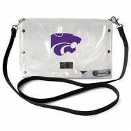 Kansas State Wildcats Clear Envelope Purse