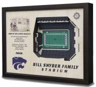 Kansas State Wildcats 25-Layer StadiumViews 3D Wall Art