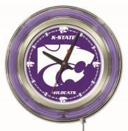 Kansas State Wildcats Neon Clock