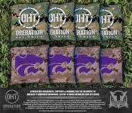 Kansas State Wildcats Operation Hat Trick Cornhole Bag Set