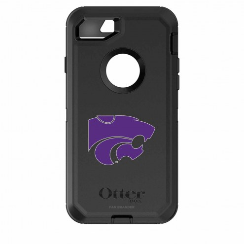 Kansas State Wildcats OtterBox iPhone 8/7 Defender Black Case