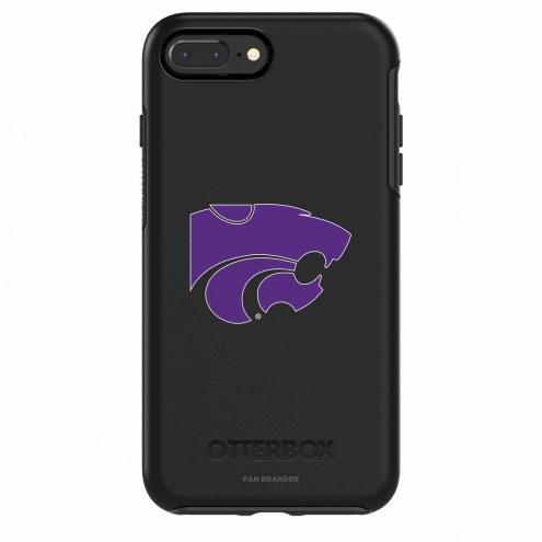 Kansas State Wildcats OtterBox iPhone 8/7 Symmetry Black Case